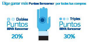 Mas puntos Bancomer
