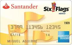 Tarjeta Santander Six Flags American Express