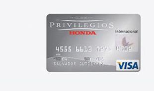 Tarjeta Club de Privilegios Honda