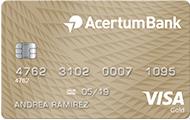 Tarjeta de Crédito Gold AcertumBank
