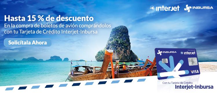 Tarjeta de Crédito Interjet-Inbursa Clásica