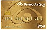 Tarjeta de Crédito Oro Garantizada de Banco Azteca