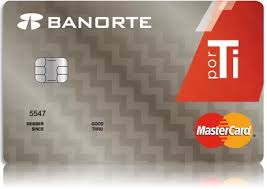 Tarjeta de Crédito POR Ti de Banorte