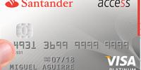 tarjeta santander access
