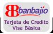 Tarjeta Visa Básica Banco del Bajio