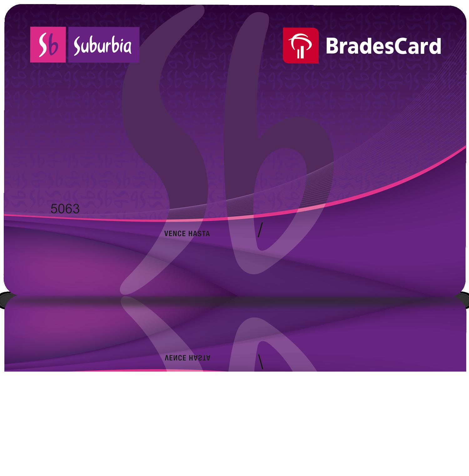 e64dd7cbdbe La Tarjeta BradesCard Suburbia brinda beneficios exclusivos a los clientes  de la tienda.
