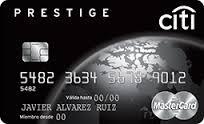 Tarjeta de Crédito Citi Prestige de Banamex