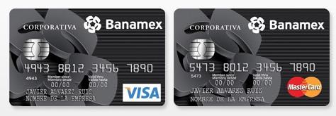 tarjeta corporativa banamex
