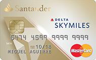 Tarjeta Delta Oro Santander
