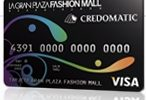 Tarjeta de credito La Gran Plaza Fashion Mall Credomatic