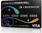 Tarjeta de credito La Gran Plaza Fashion Mall Credomatic