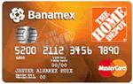 Tarjeta Home Depot Banamex