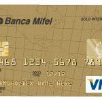 Tarjeta de crédito Mifel Visa Oro