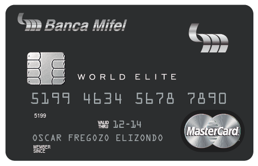 Tarjeta World Elite Mifel