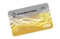 Tarjeta de credito Oro Famsa