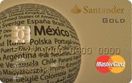 Tarjeta Oro Santander
