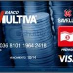 Tarjeta Prepagada Savella Banco Multiva