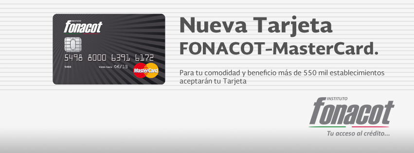 nueva tarjeta fonacot mastercard