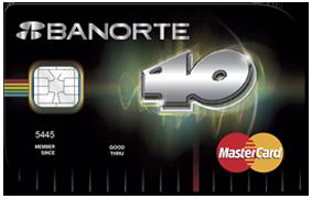tarjeta 40 principales banorte