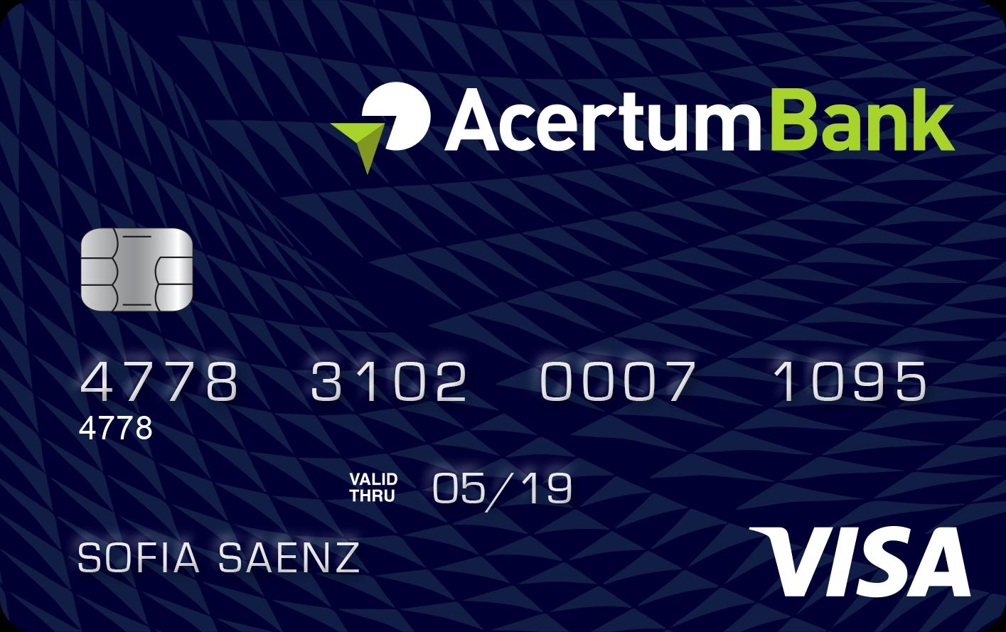 tarjeta de credito garantizada acertumbank