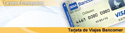 Tarjeta de Viajes BBVA Bancomer