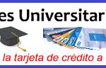 tarjetas de credito universitarias