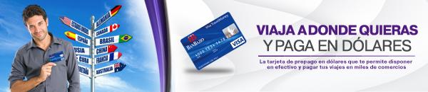 tarjeta visa travel money de banbajio
