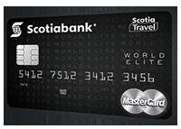Tarjeta Scotia travel world elite