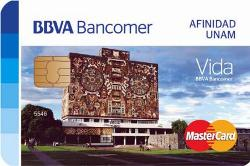 Tarjeta Afinidad UNAM Bancomer