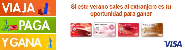 Promociones de banorte Habilitar visa debito para el exterior