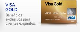 Tarjeta Visa Gold
